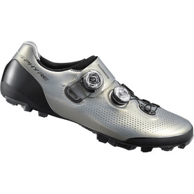 Shimano SH-XC9 S-Phyre Bike Shoes Wide Men silver